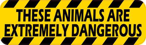 Animals Are Extremely Dangerous Magnet