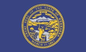 Nebraska State Flag Magnet