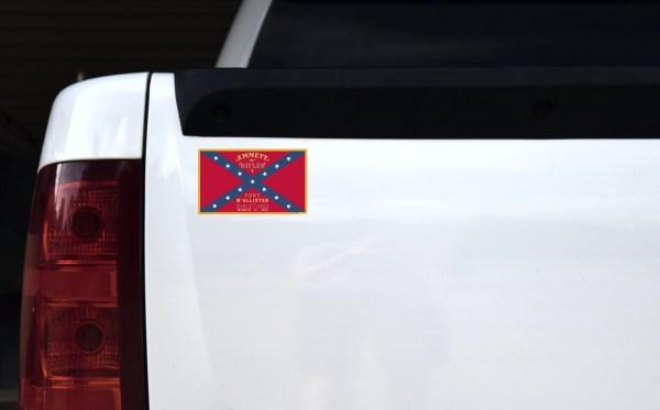 Emmett Rifles Flag Sticker