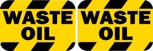Waste Oil Stickers