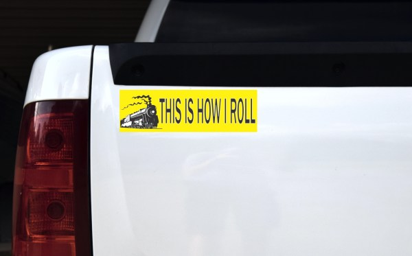 Train This Is How I Roll Magnet