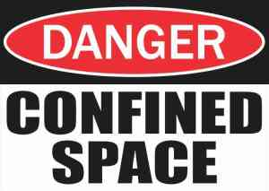 Danger Confined Space Magnet