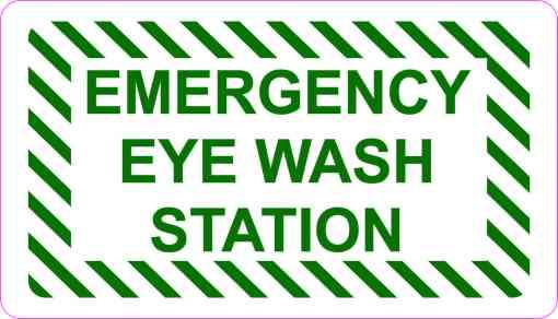 Emergency Eye Wash Station Magnet