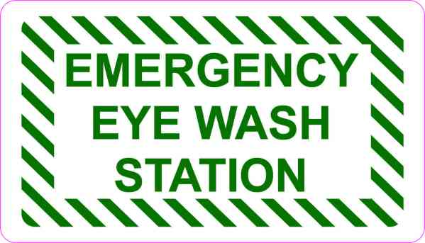 Emergency Eye Wash Station Magnet