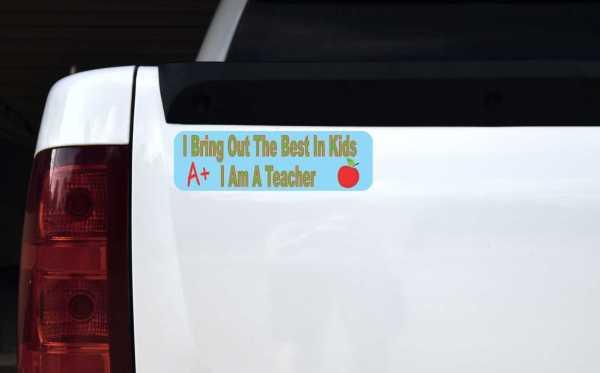 I Am a Teacher Vinyl Sticker