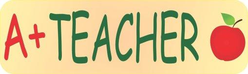A+ Teacher Magnet