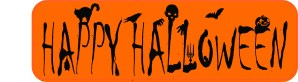 Happy Halloween Vinyl Sticker