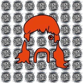 Joe Exotic Tiger King Decal Sticker