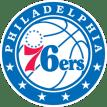 "Image result for philadelphia 76ers logo transparent"""