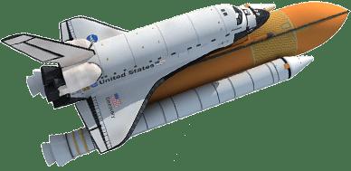 Resultado de imagen para challenger transbordador shuttle png