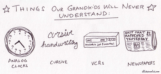 Kids just dont understand.