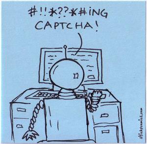 sad robot can't fill in captcha