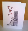 valentine's day cards for sale on etsy