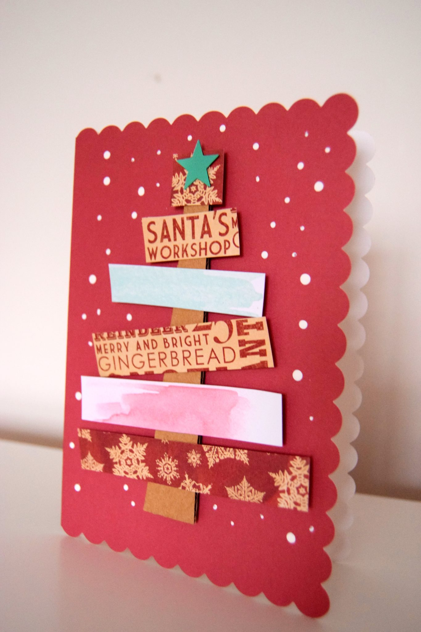 Handmade Christmas Card Crafts - Sticky Mud and Belly Laughs