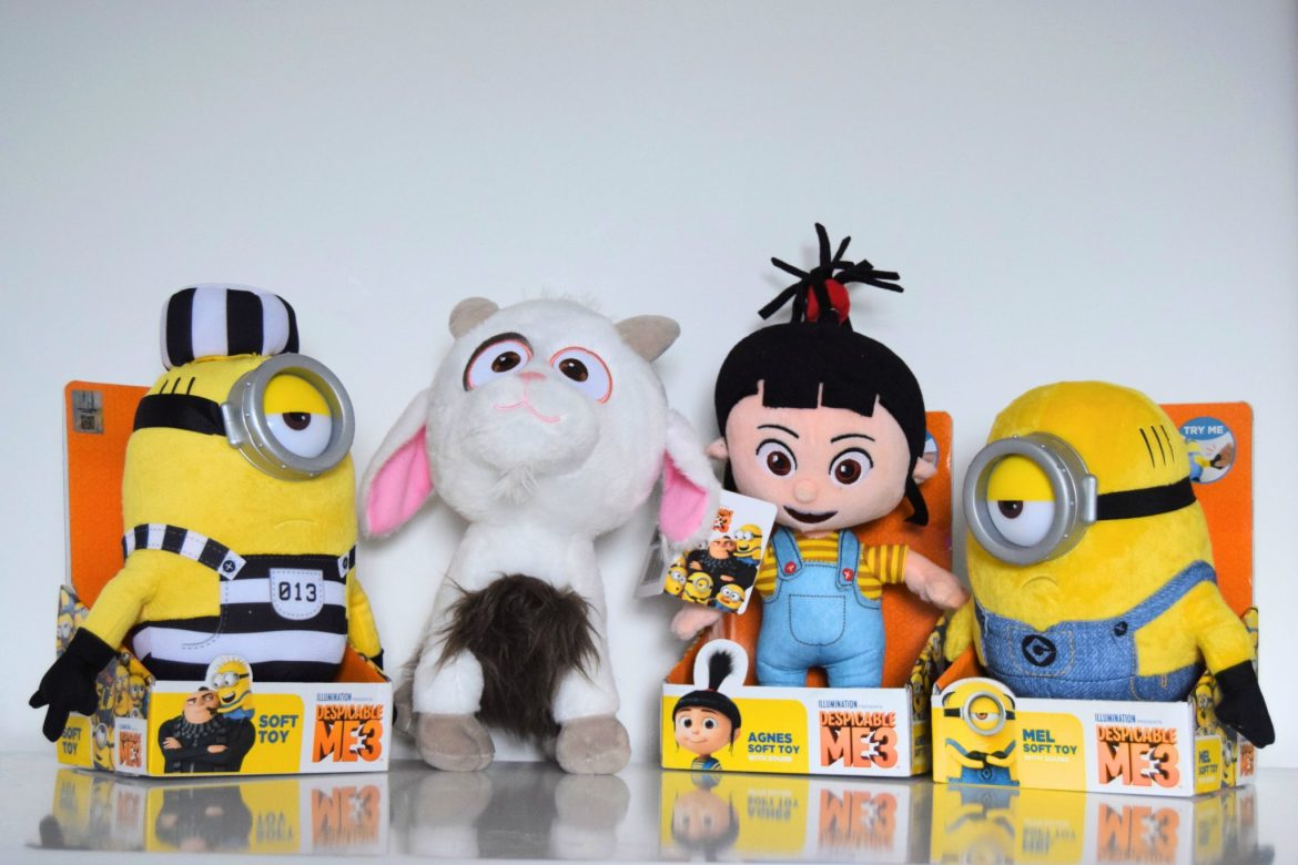 Despicable Me 3 Toys And Movie