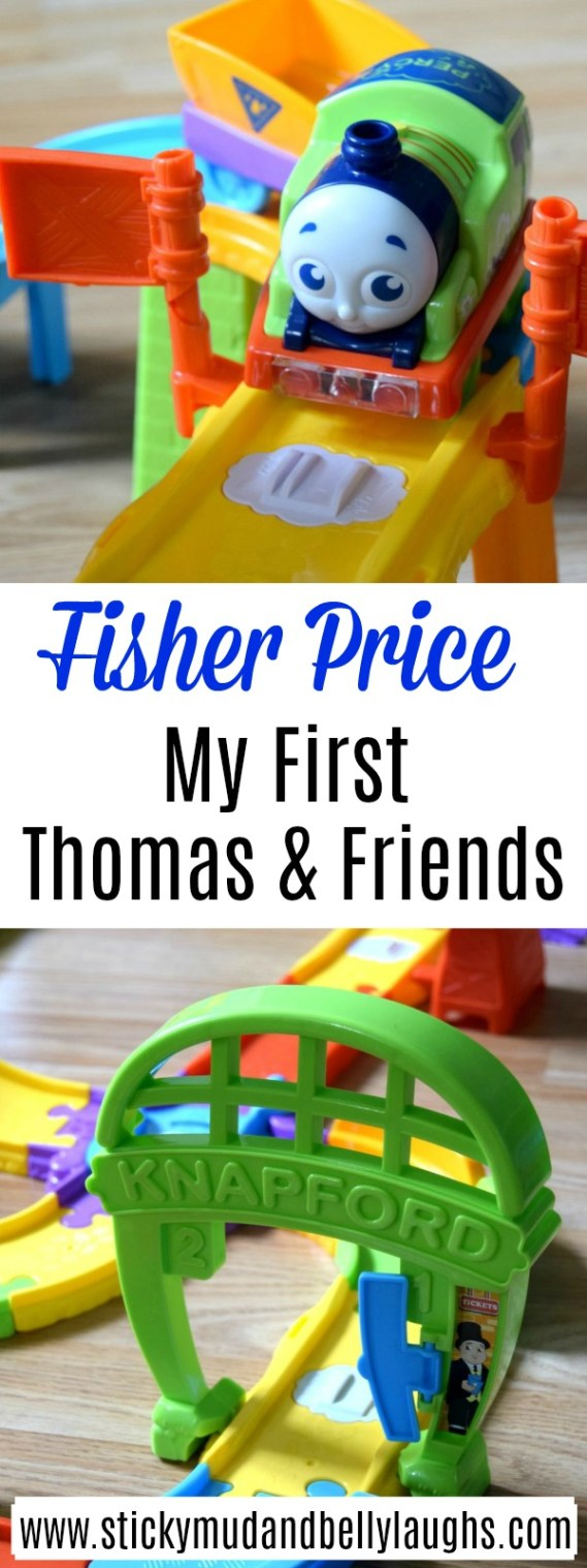 Is your little one a Thomas&Friends fan? Then they will love this playset from Fisher Price. #Toyreview #toys #trainplayset #thomasthetank