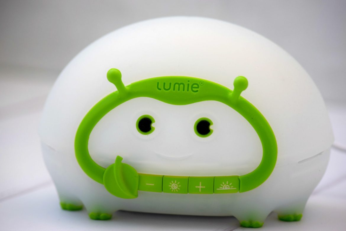 Children's nightlights. Lumie Bedbug light