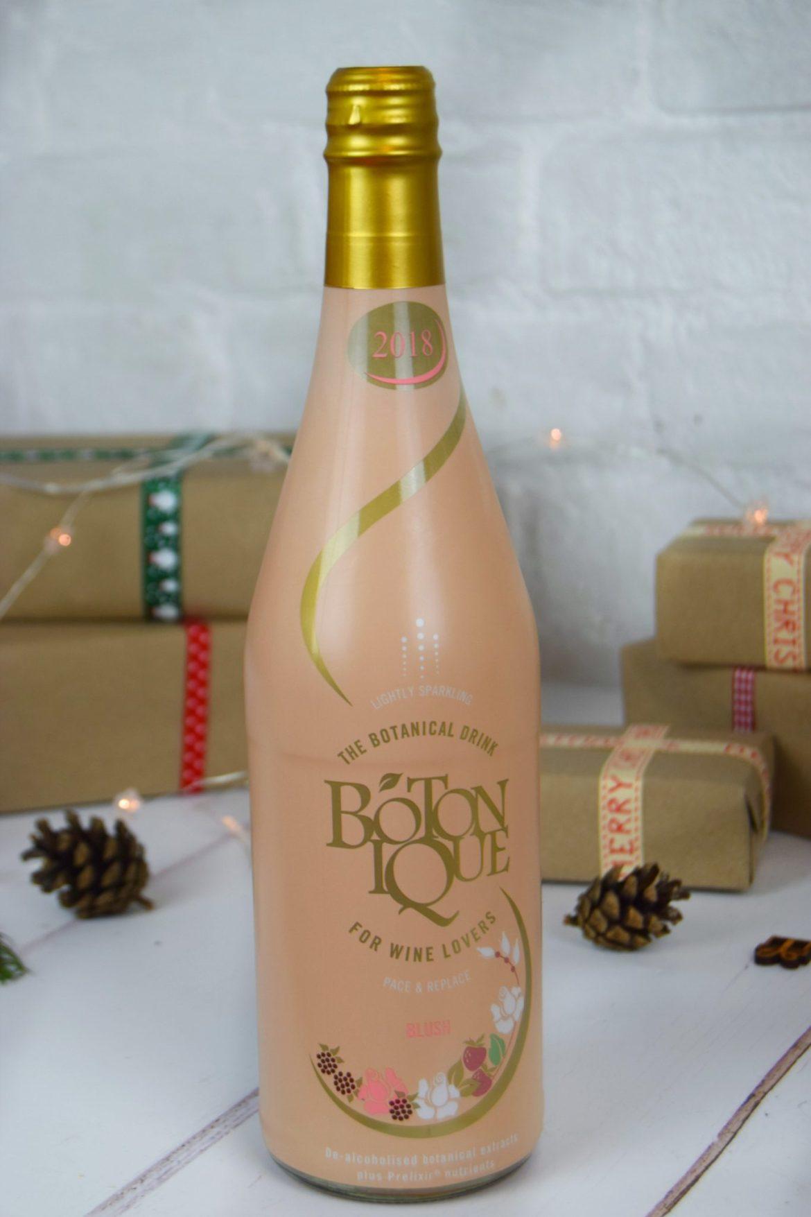 A bottle of alcohol free Botonique.