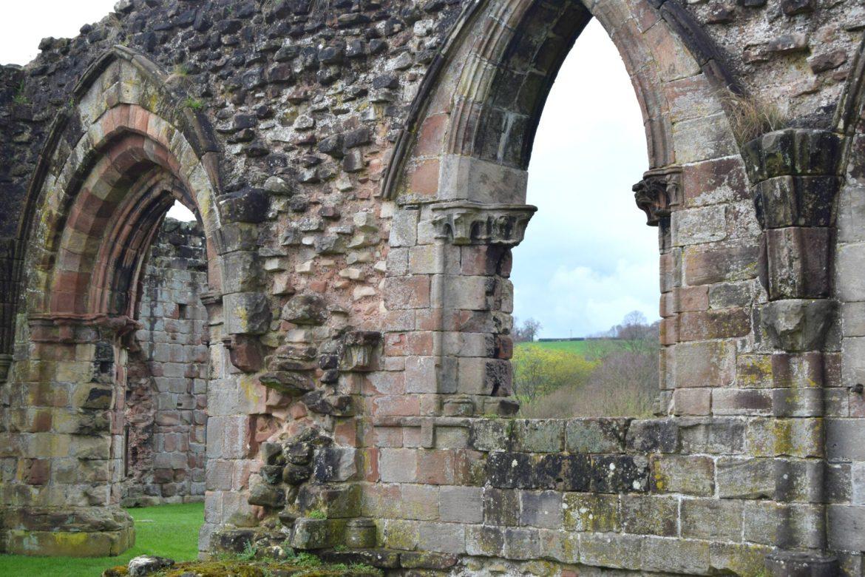 Croxden Abbey ruins. The Sacristy
