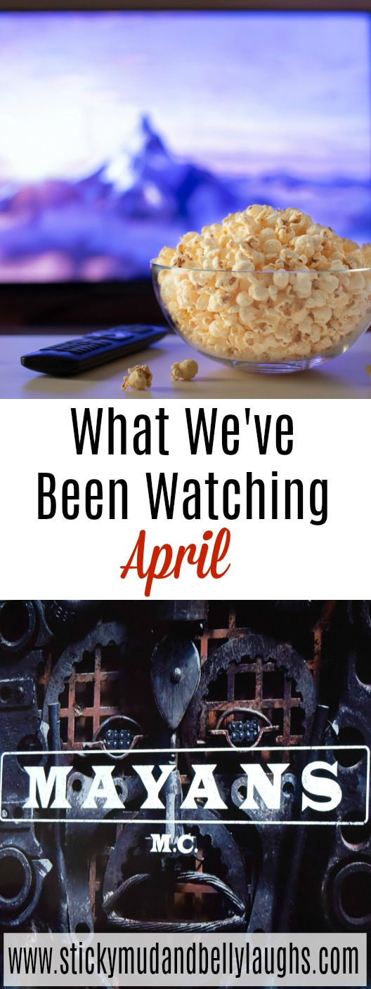 Looking for things to watch on TV? Then check outWhat we've been watching - April. #tvshows #whattowatch #goodboxsets #moviestowatch