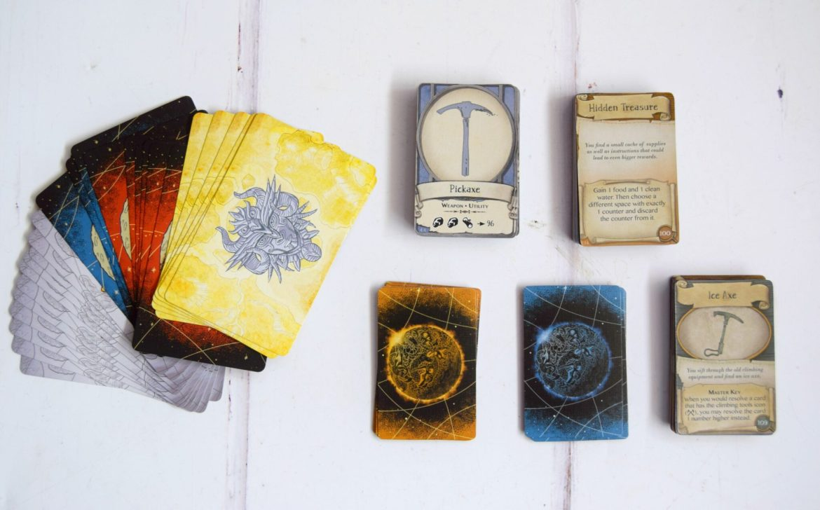 Discover Lands Unknown Playing cards