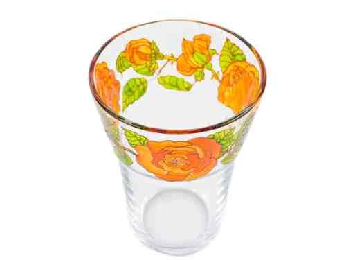 Vaza Cu Trandafiri Portocalii
