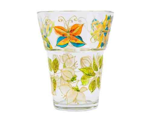 Vaza Cu Fluturasi Si Flori De Lamaita