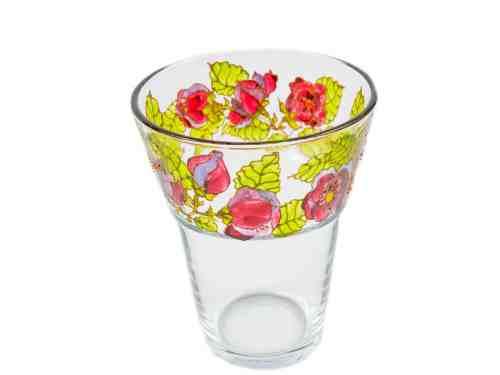 Vaza Cu Trandafiri Visinii-lila
