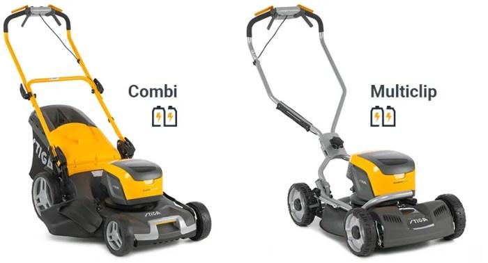 STIGA 500 Synchronized cordless battery lawn mowers
