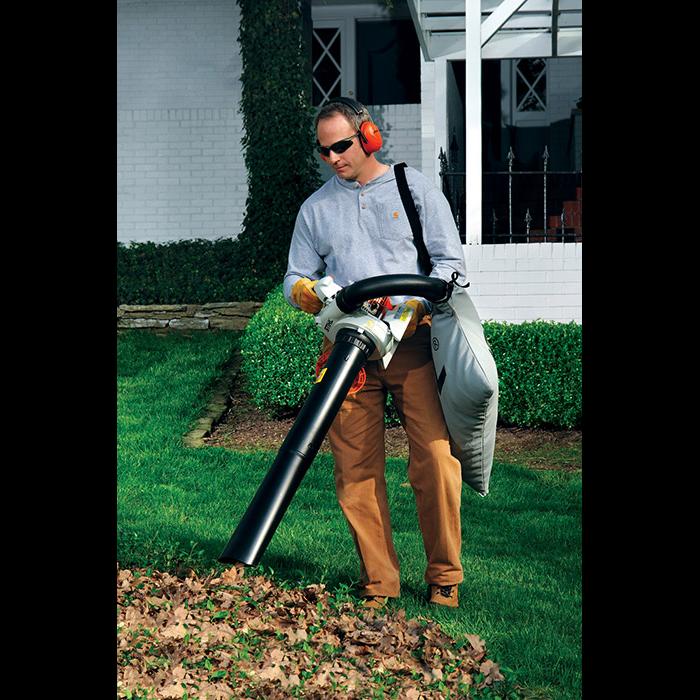 Leaf Blower Shredder Vac