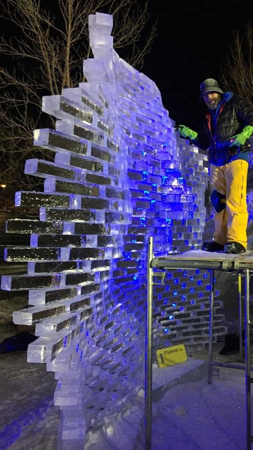 wilfred stijger ice sculpture