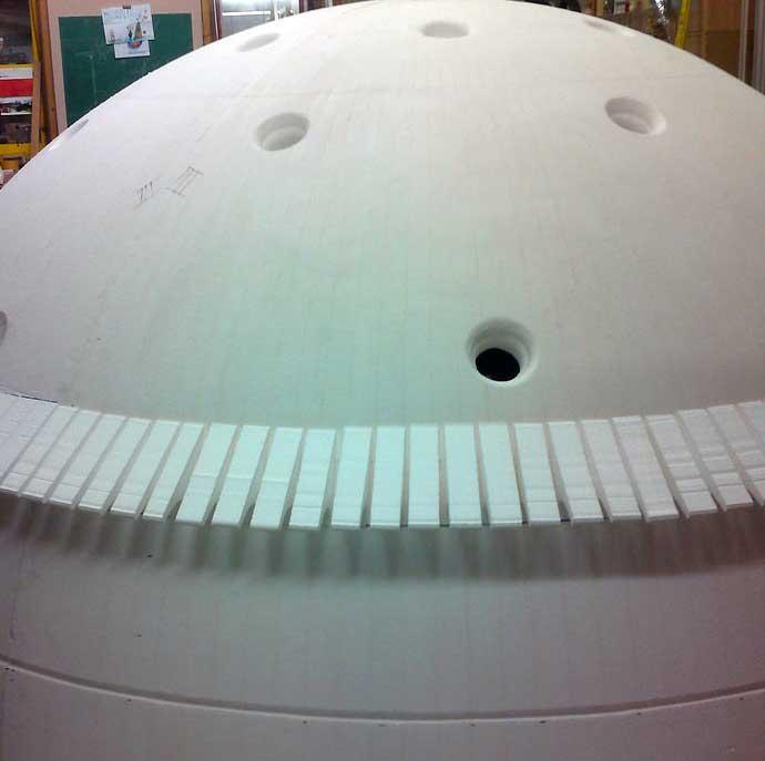Monteren Dome sculpture