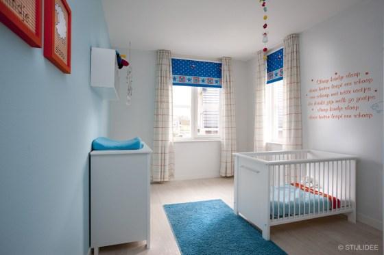 Babykamer in Hooglanderveen bij Amersfoort na STIJLIDEE's Interieuradvies