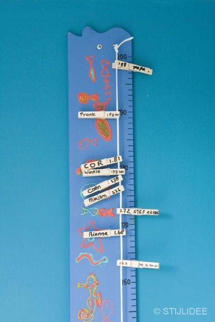 DIY Groeimeter na STIJLIDEE Interieuradvies en Styling