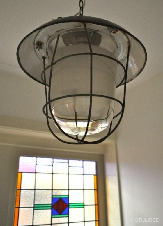 Vintage hanglamp na STIJLIDEE Interieuradvies en Styling