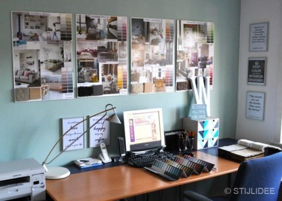 Werkkamer na STIJLIDEE Interieuradvies en Styling