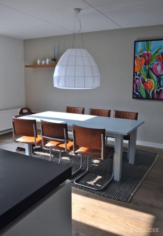 eetkamer na STIJLIDEE's interieuradvies, kleuradvies en styling