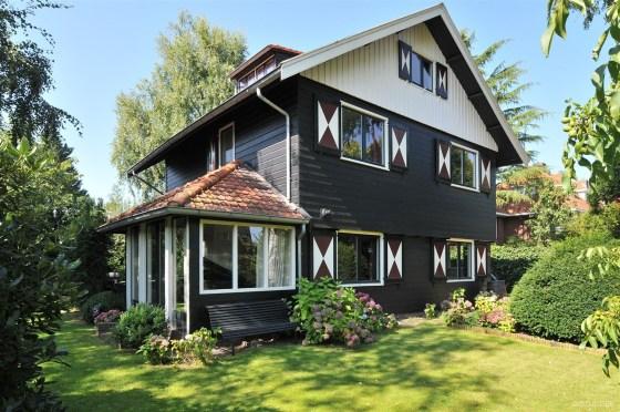 Verkoopstyling van ... een houten villa in modern klassieke stijl in Naarden na STIJLIDEE Verkoopstyling
