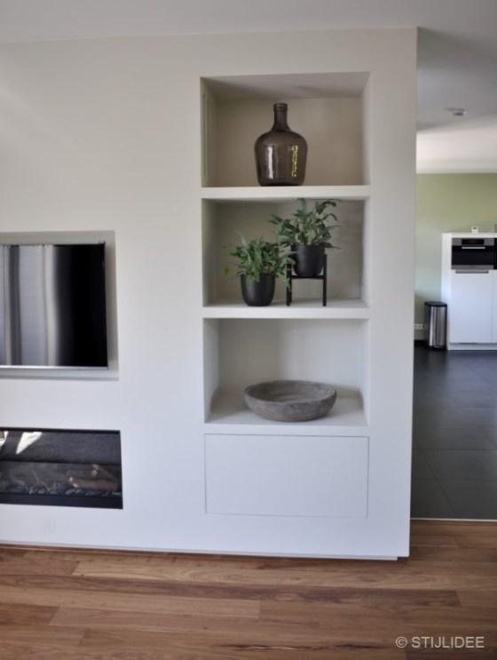 Binnenkijken in ... een huis met nieuwe haard en veranda overkapping in Leidsche Rijn na STIJLIDEE Interieuradvies en Styling