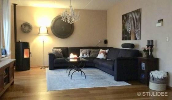 VOOR het advies van STIJLIDEE Interieuradvies en Styling in een modern landelijke woning in Lelystad