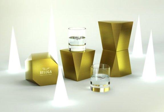 Stijlmagzine- verpakking designs-verfbaard- Beluga-Vodka