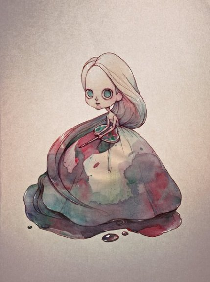 Stijlmagazine-The Self-painted Girl- Marija Tiurina.1