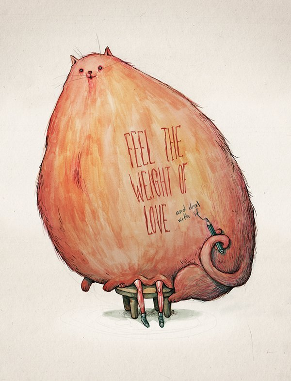 weight of love-