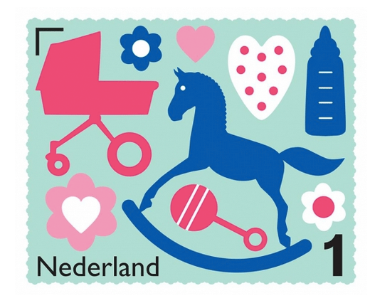 POST NL- postzegel ontwerp