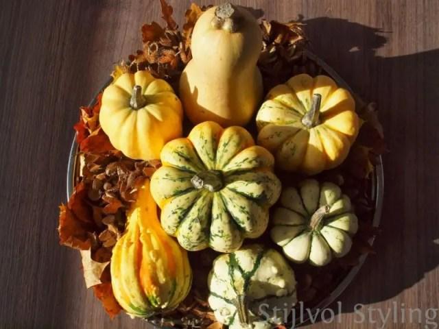 Interieur & Feest styling | Diners en feestelijke styling in herfst sfeer - www.stijlvolstyling.com Woonblog