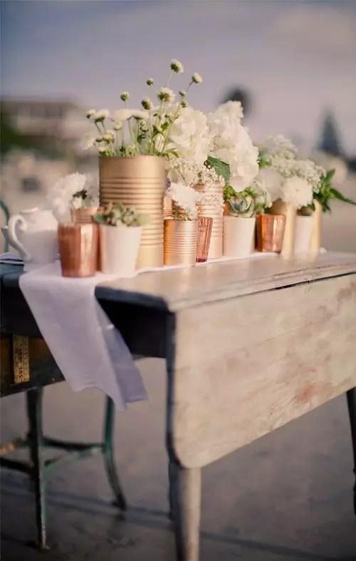 Tuintrends 2015 - koper en goud in de tuin - Stijlvol Styling