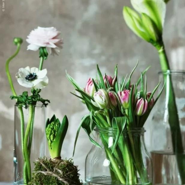 Interieur | Trend | Vazen, kruiken & flessen van gekleurd glas #hkliving #housedoctor #bloomingville #ikea