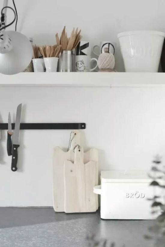 Interieur keuken styling met snijplanken stijlvol for Interieur ideeen keuken