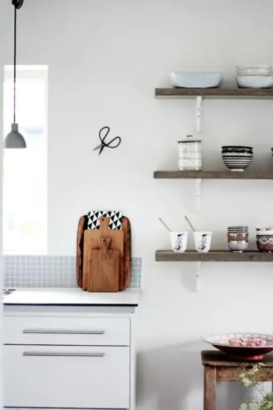 Interieur keuken styling met snijplanken stijlvol styling woonblog - Www keuken decoratie ...