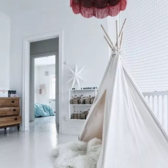 Interieur+DIY | Wigwam in de kinderkamer #tipi #wigwam